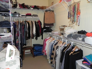 By keeping a clean and organized closet you will have a much smoother time getting ready every morning. When you can see what you have it's a lot easier!