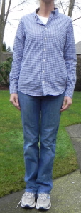 Mom jeans and tennis shoes- a HUGE 'no no' in my book!